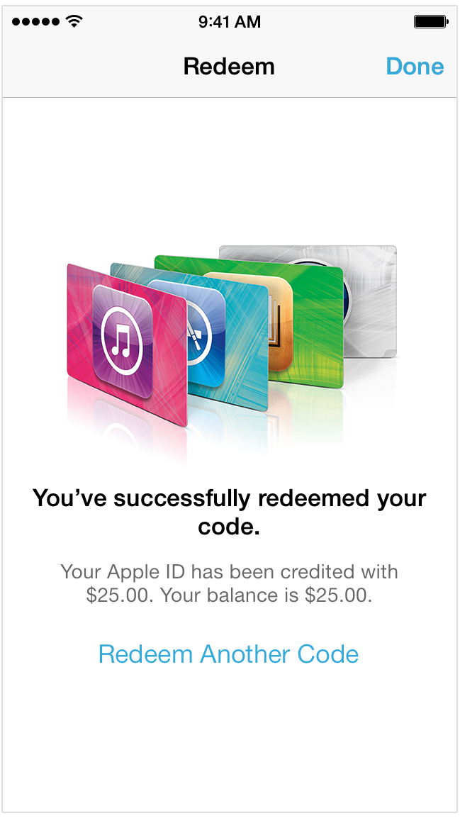 Redeem iTunes Gift Cards with the camera on your iPhone, iPad, iPod